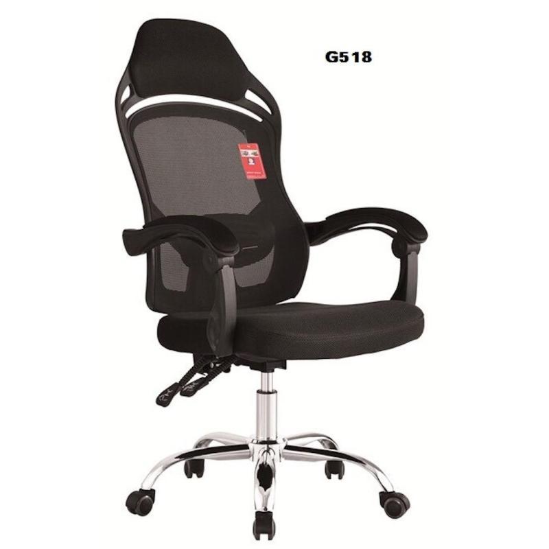 Ghế văn phòng thư giãn ngả lưng thoải mái MN-G518-M1 (Đen) giá rẻ
