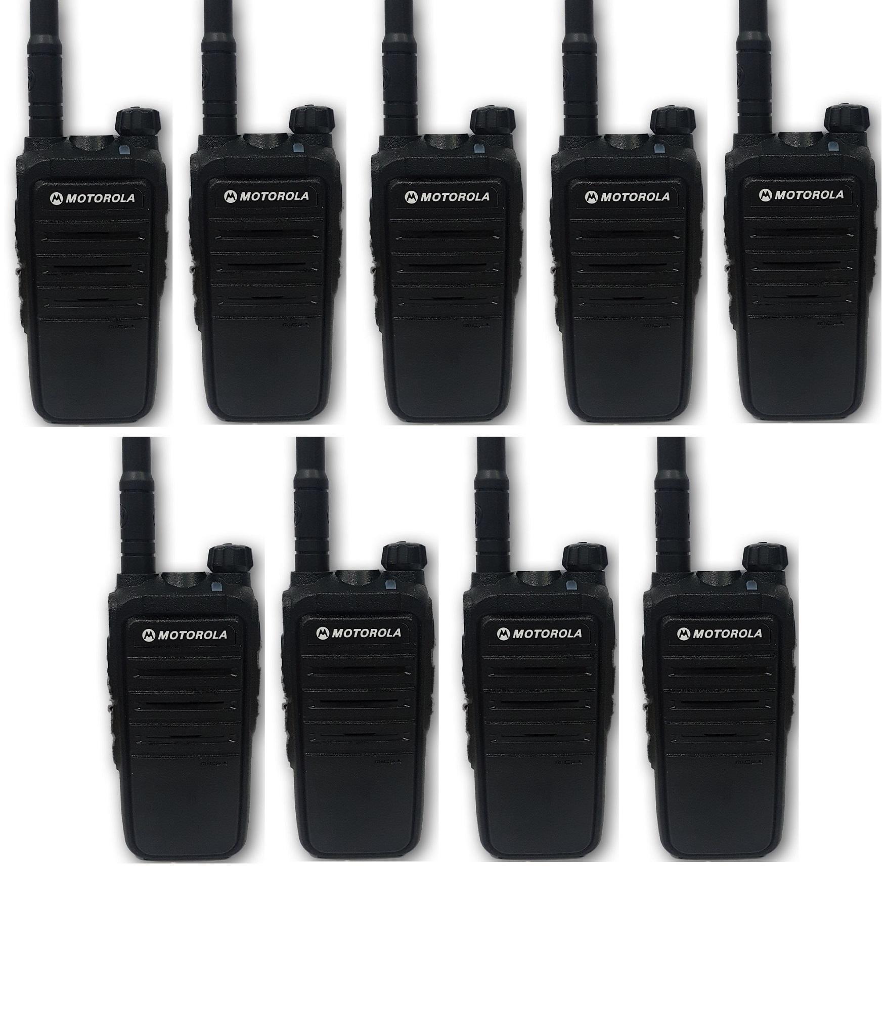 Bộ 9 Bộ đàm Motorola CP318 -Cự ly liên lạc tối thiểu 1km trong nội thành(BN3)+Tặng kèm 09 Tai nghe