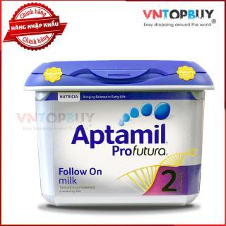 Sữa Aptamil 2 Pro Futura nội địa Anh Sữa bột công thức ngoại cho trẻ 6 - 12 tháng tuổi 800g thumbnail