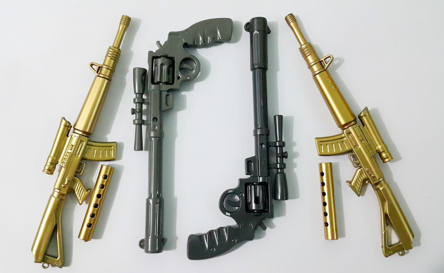 Mua Combo 4 cây bút viết hình vũ khí độc lạ