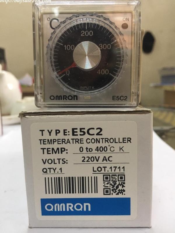 Bộ điều khiển nhiệt độ E5C2( đồng hô nhiệt E5C2 ) bao gồm đế,