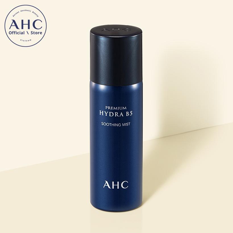 Xịt khoáng làm dịu da cao cấp AHC Premium Hydra B5 Soothing Mist 60ml nhập khẩu