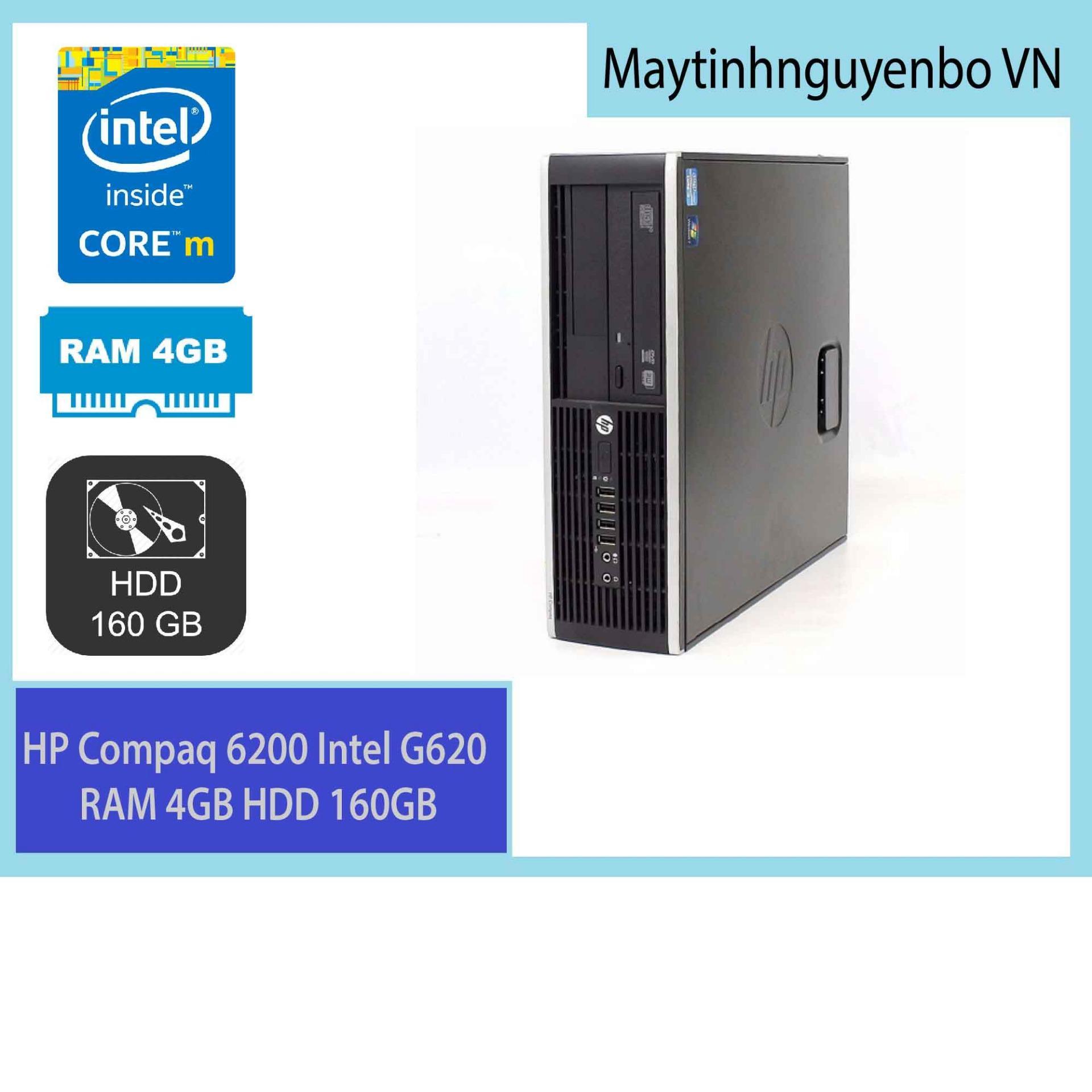 Hình ảnh Máy tính đồng bộ HP Compaq 6200 Intel G620 RAM 4GB HDD 160GB