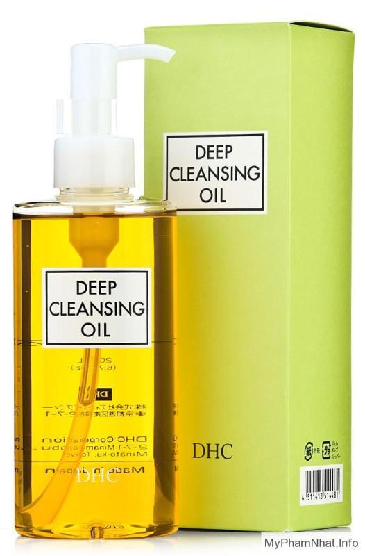 Dầu tẩy trang DHC Deep Cleansing Oil 200ml tốt nhất