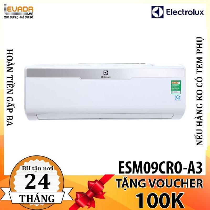 Bảng giá (ONLY HCM) Máy Lạnh 1 Chiều Electrolux ESM09CRO-A3 - 9.000BTU