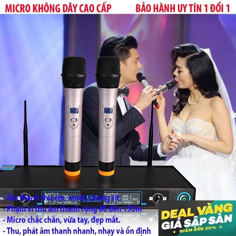 Micro karaoke giá rẻMicro không dây karaoke Super PRO U99 hay nhất, dòng sản phầm CAO CẤP nhất 2018 - BH uy tín 1 đổi 1 TECH-ONE.