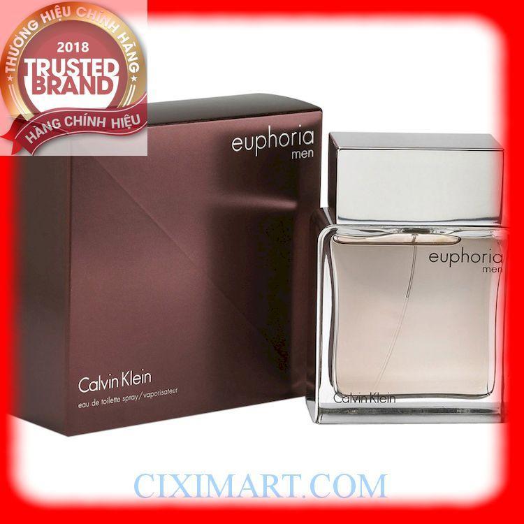 Nước hoa nam Calvin Klein-Euphoria Men EDT- 100ML