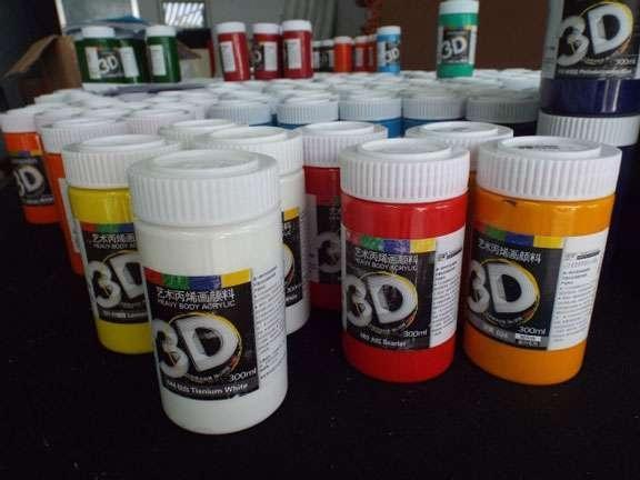 Mua Màu Acrylic 3D -300ml ( Được chọn màu - Đủ các màu cơ bản )