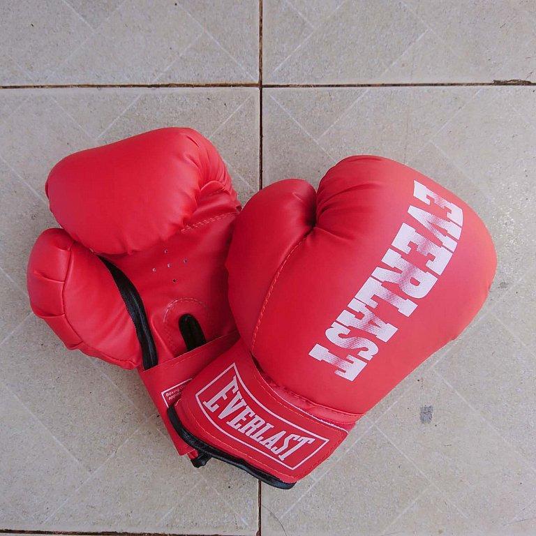 Hình ảnh Găng Tay Đấm Boxing Everlast Trẻ em 8 - 14 tuổi (Đỏ)