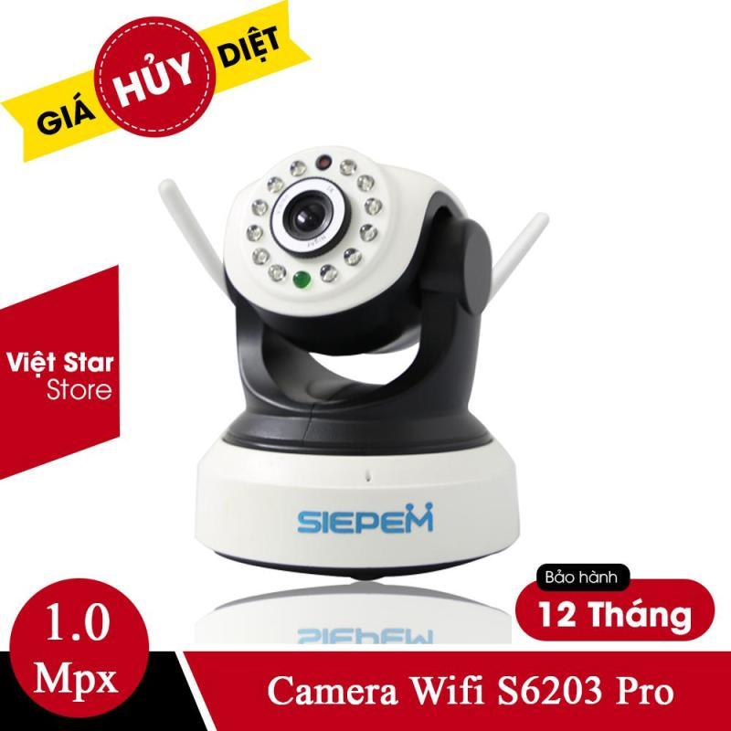 Camera Wifi Chống Trộm Không Dây Trong Nhà S6203 Pro