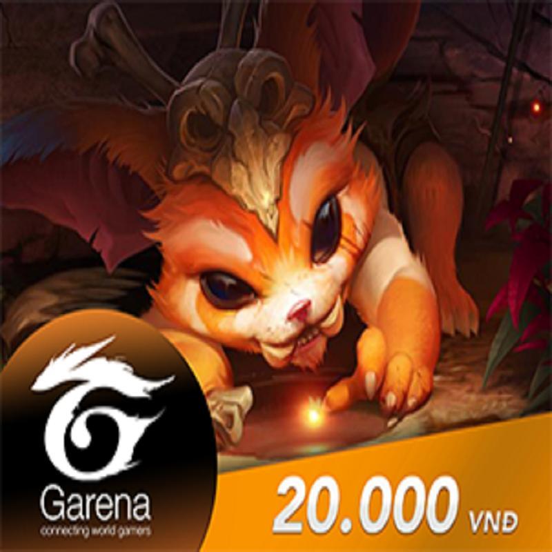 Hình ảnh Thẻ Game Garena 20.000Đ