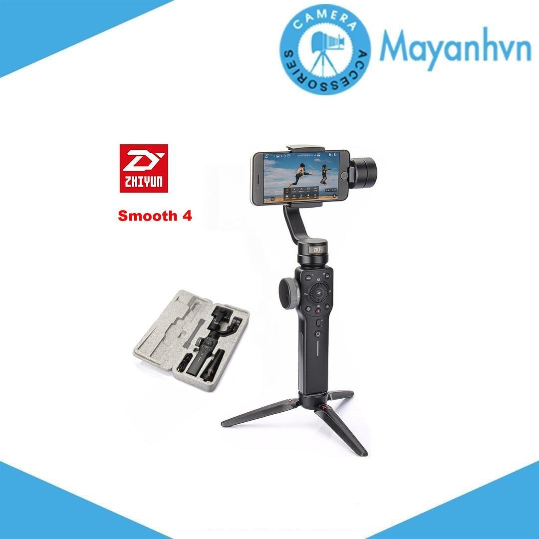 Hình ảnh Zhiyun Smooth 4 (Đen) - Gimbal chống rung cho điện thoại