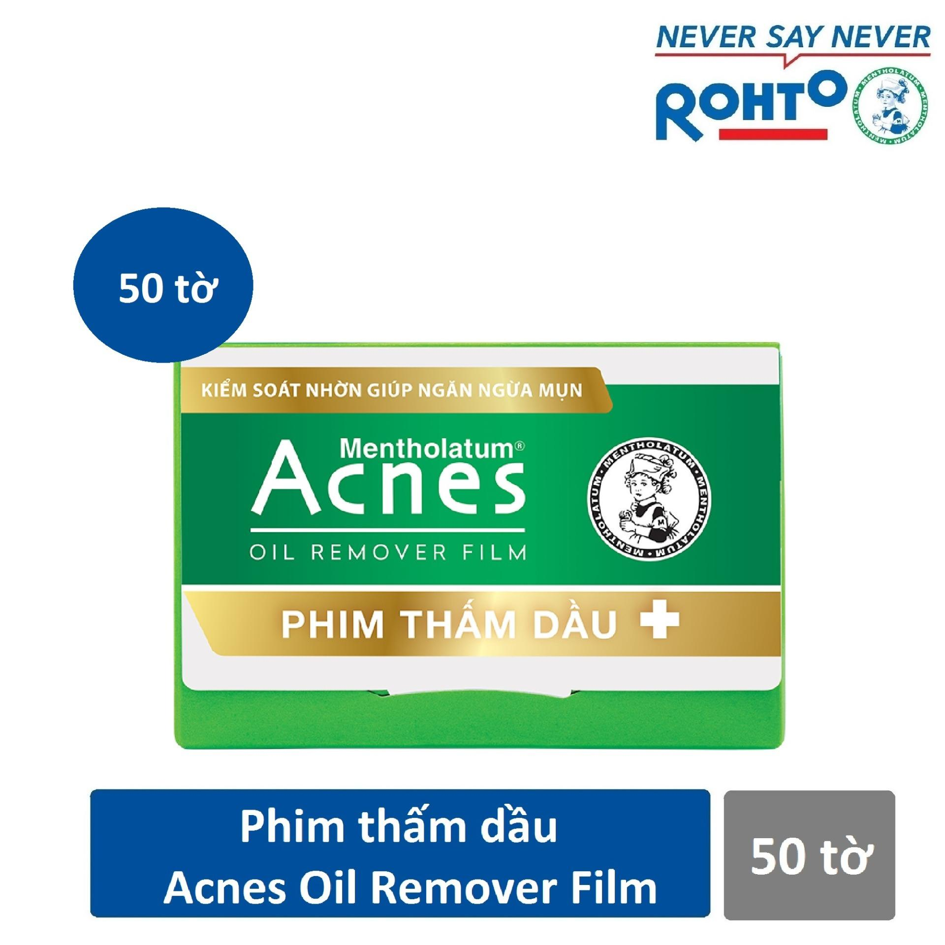 Phim thấm dầu Acnes Oil Remover Film 50 tờ tốt nhất