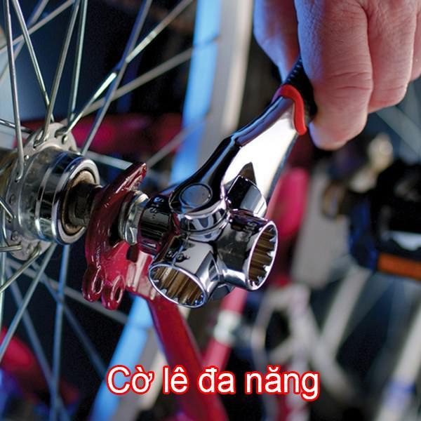 Cle Cờ lê mỏ lết đa năng 8 đầu đa chiều Vặn mọi trường hợp - Cần thiết cho mọi thợ sửa chữa (Hàng tốt, Bán chạy)