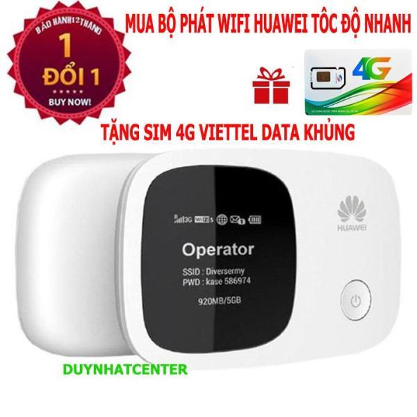 Bảng giá WIFI DI ĐỘNG 3G 4G HUAWEI E5336 (Trắng) - Hãng phân phối chính thức - Tặng sim 4g viettel data khủng Phong Vũ