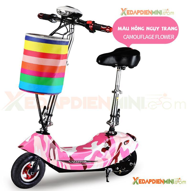 Giá bán Xe đạp điện mini E-Scooter 2019 - Xe điện mini MiBike