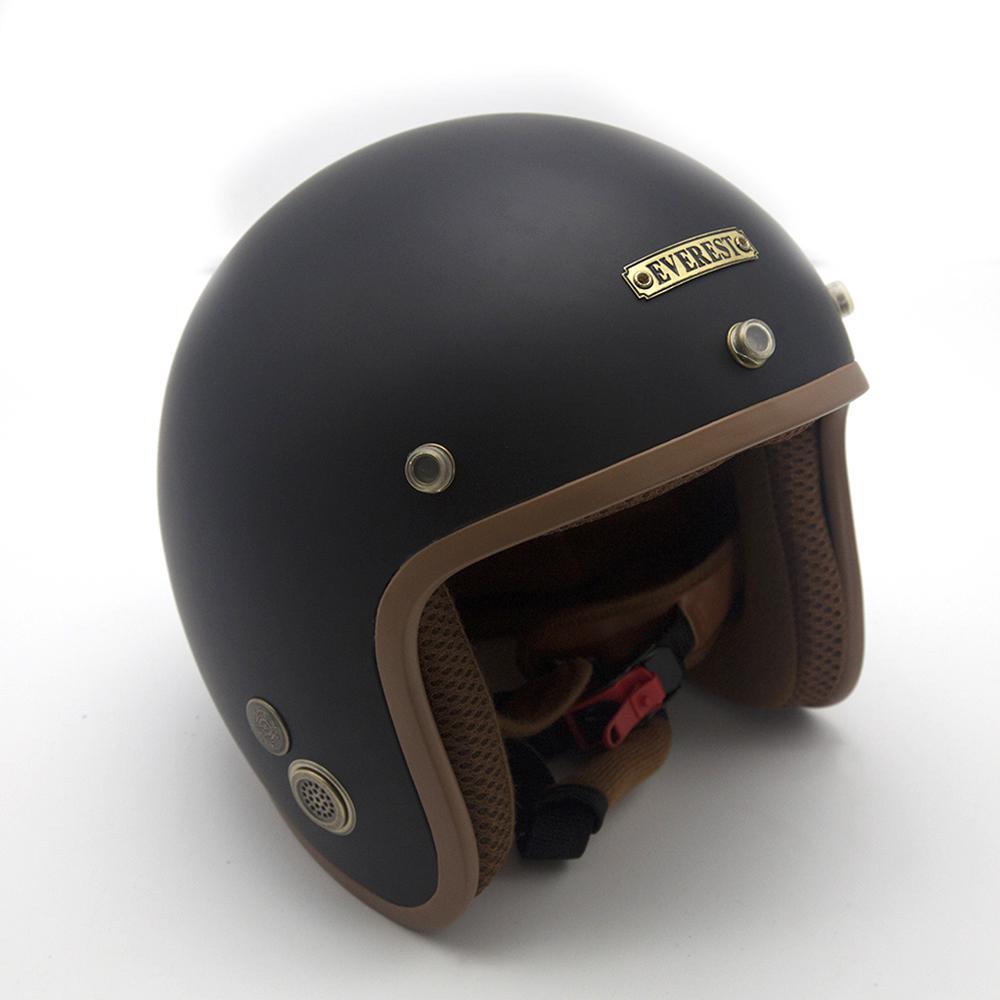 Mũ bảo hiểm 3/4 đầu chuyên phượt cao cấp EVEREST (Nhiều màu)