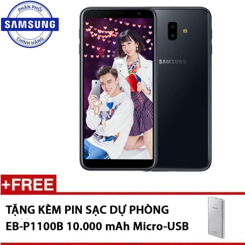 Samsung Galaxy J6+ 32GB - Hãng phân phối chính thức + Tặng kèm Pin sạc dự phòng 10.000mAh EB-P1100