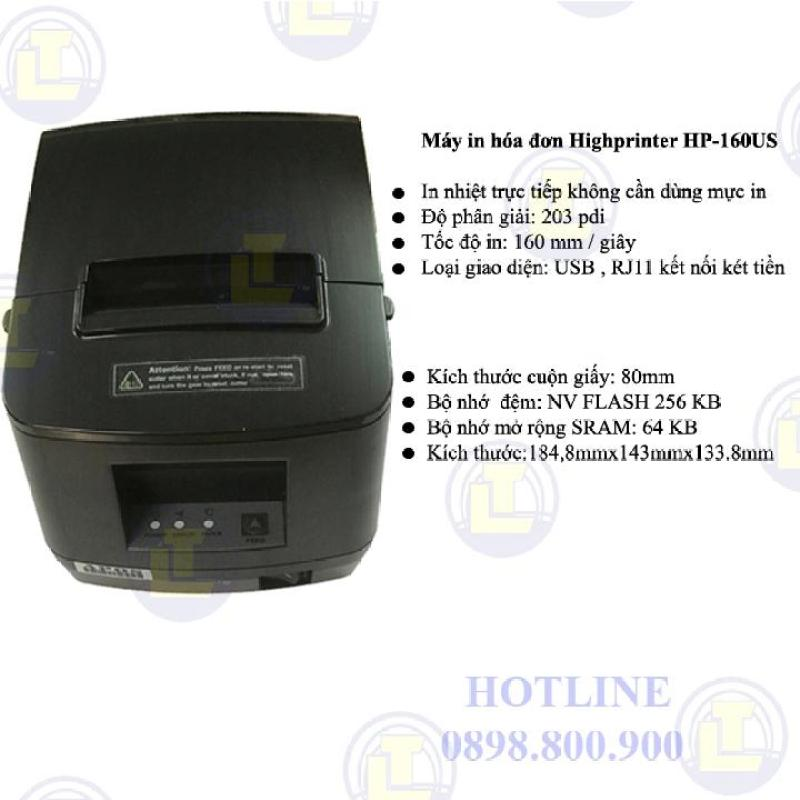 Máy in bill khổ 80mm Highprinter HP-160US