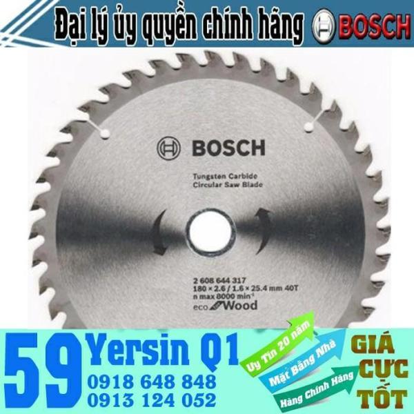 Lưỡi Cưa Gỗ 60 Răng Bosch 2608644318 (180x25 4mm )