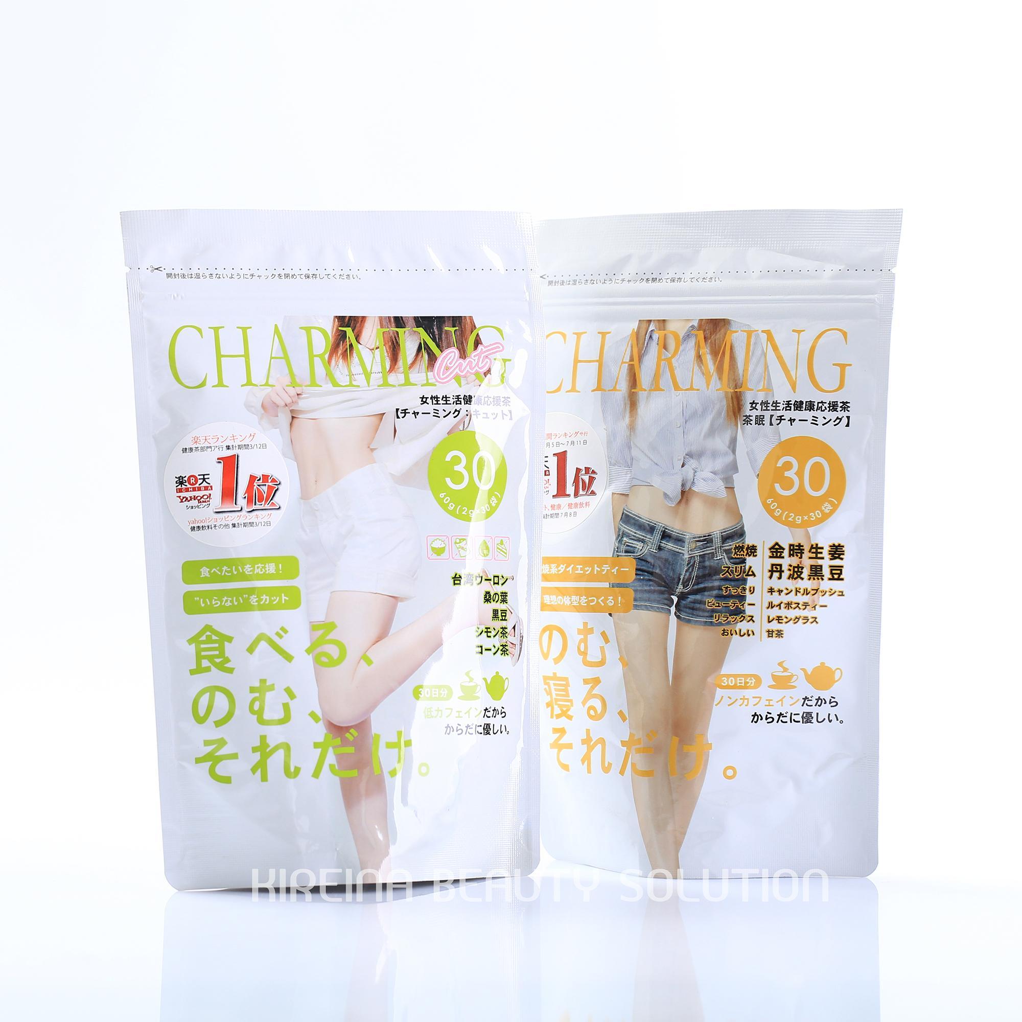 Bộ trà giảm cân Charming Tea & Charming Cut nhập khẩu