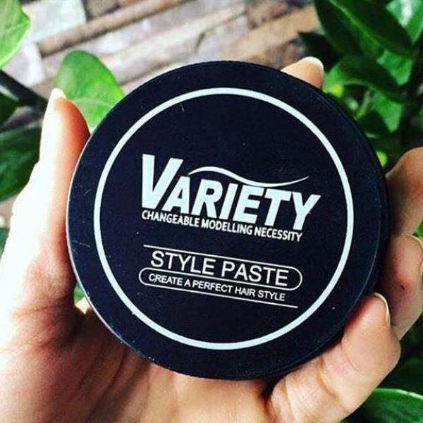 Sáp vuốt tóc Variety Matte Lasting 100ml - wax tóc giữ nếp tốt, bên trong màu trắng đục và không bóng