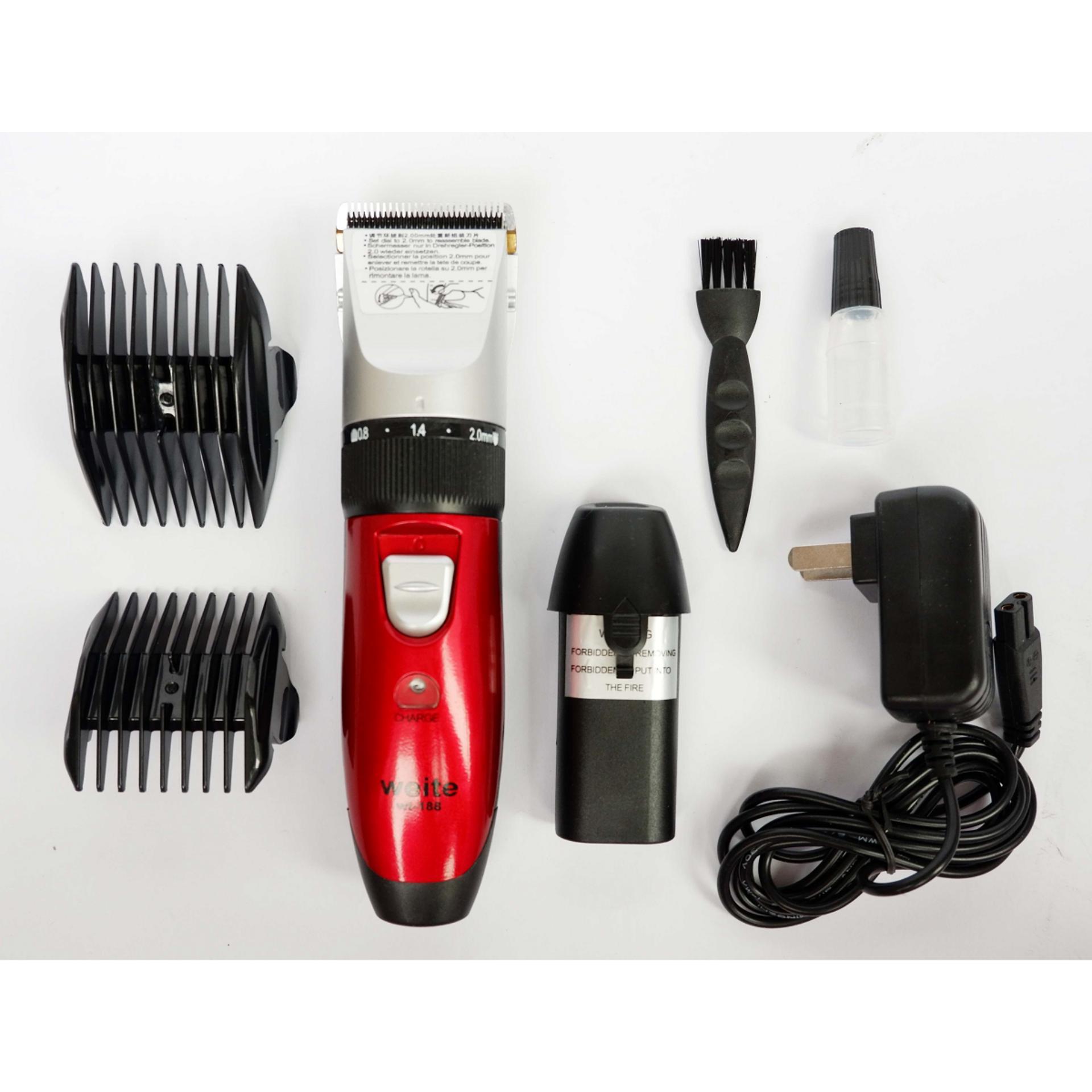 Tăng đơ hớt tóc hoạt động êm, cắt bén WT188 - Bảo hành 12 tháng-Mua tong do cat toc o dau giá rẻ