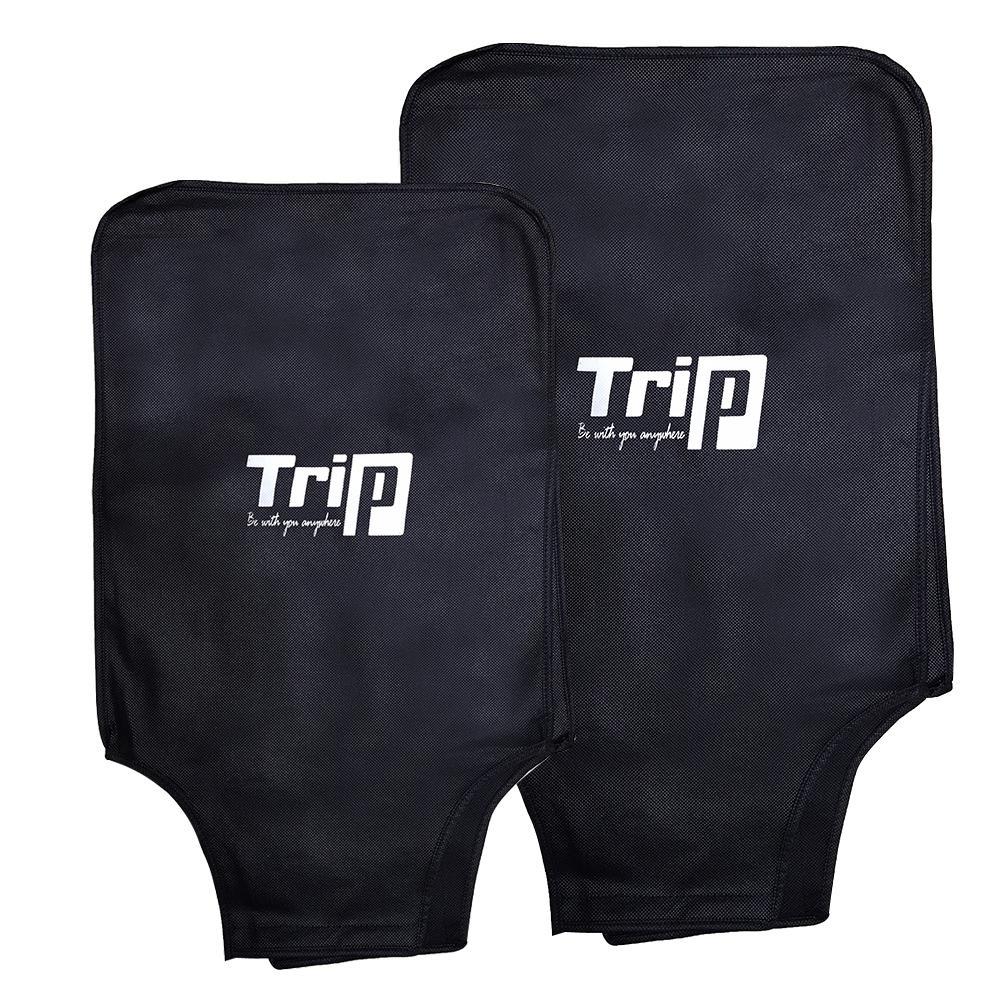 Siêu Giảm Giá Khi Mua [Hỗ Trợ Phí Ship] Bộ 2 áo Trùm Vali TRIP Size 20inch + 24inch Màu đen