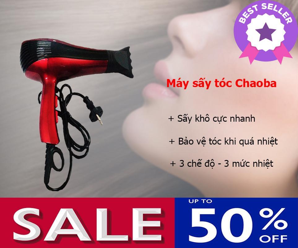 Máy sấy tóc Chaoba 2800W, Kiểu dáng hiện đại, Tiện dụng, Máy tạo kiểu tóc nào tốt - KHUYẾN MÃI 50%