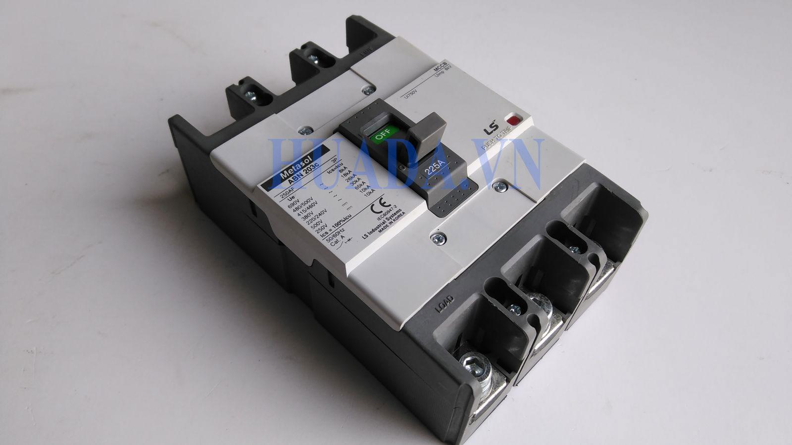 APtomat LS 3P 225A - ABN 203c