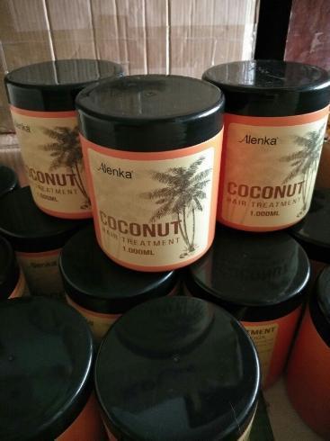 Hấp Dầu Tinh Chất Dừa  HAIR CARE CREAM Alenka 1000ml nhập khẩu