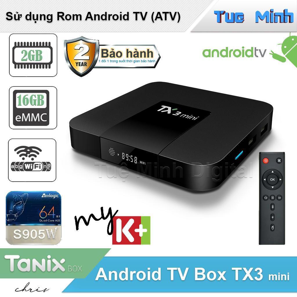 Hình ảnh Android Tivi Box TX3 mini phiên bản 2G Ram và 16G bộ nhớ trong