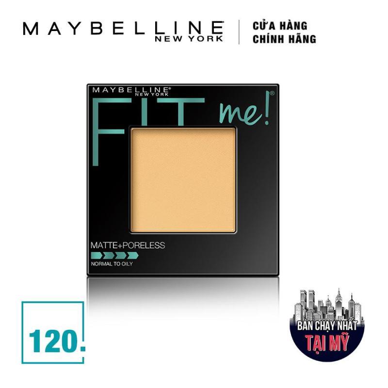 Phấn mịn lì tiệp màu da Maybelline New York Fit Me Matte And Poreless màu 120 Buff Beige 8.5g