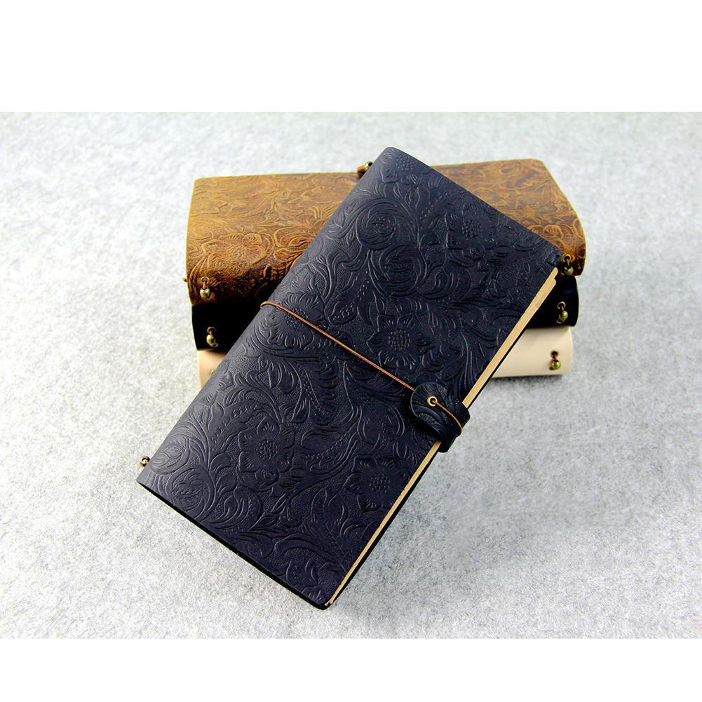 Mua Thời trang Phong Cách Retro Giấy Thạch Cao Bao Nhật Ký Sách Sổ Tay có Băng-quốc tế