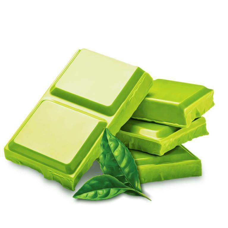 Hình ảnh Socola thanh 50g trà xanh (matcha) | Henk Chocolate