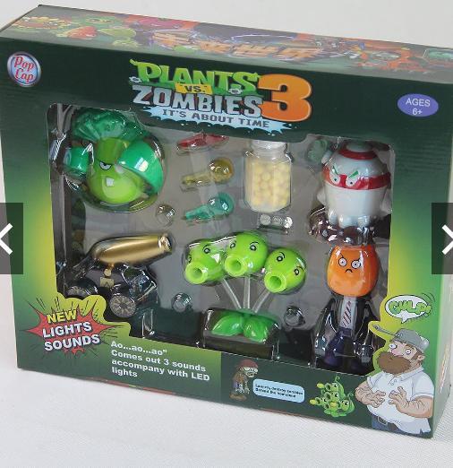Hình ảnh Bộ đồ chơi hoa quả nổi giận Plants & Zombie 3