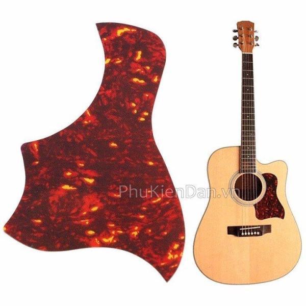 Miếng dán chống xước đàn guitar hình mỏ chim màu đỏ