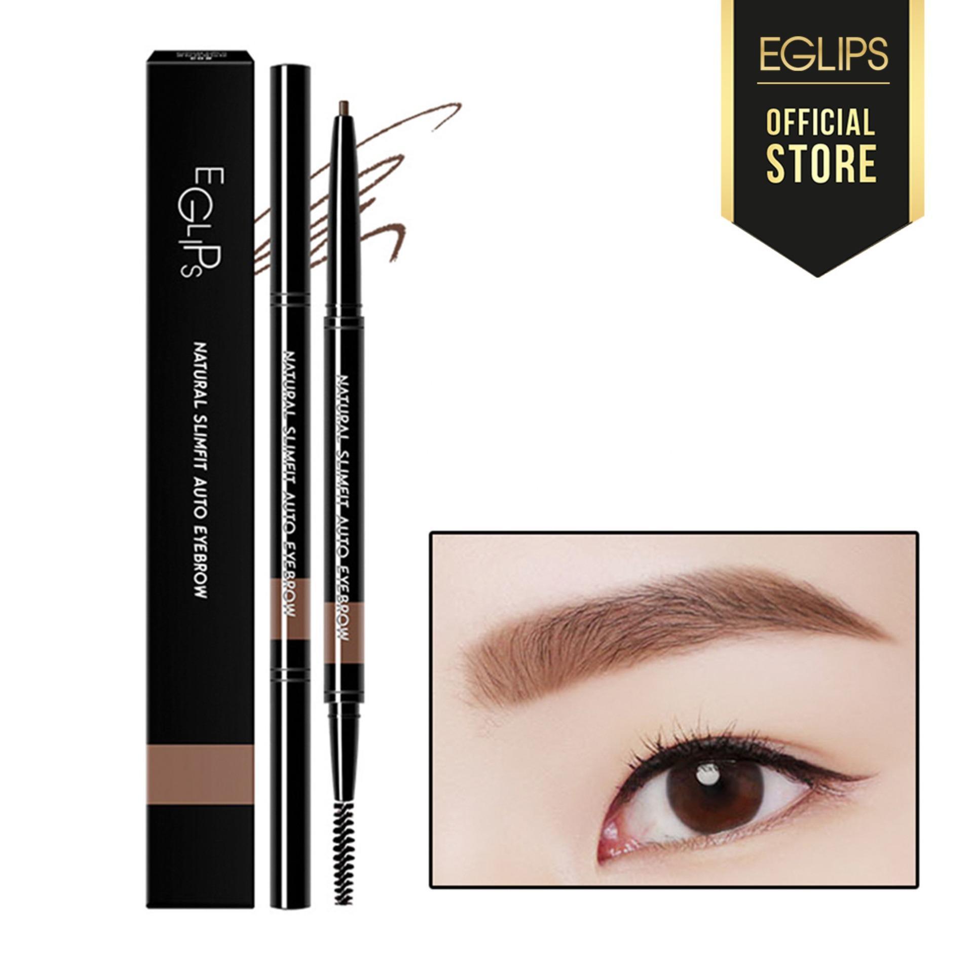 Kẻ lông mày Eglips Natural Slimfit Auto Eyebrow - #03 Light Brown tốt nhất
