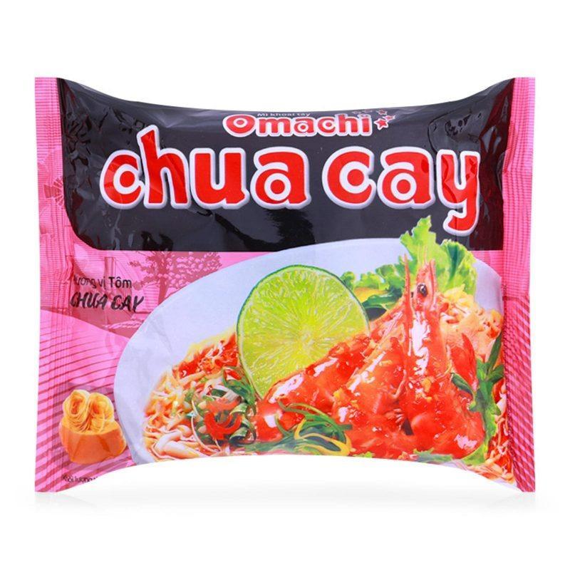 Thùng mì Omachi Chua Cay - 30 gói