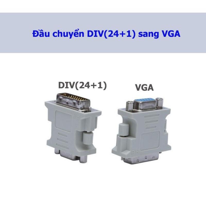 Bảng giá Đầu chuyển DVI(24+1) sang VGA Phong Vũ