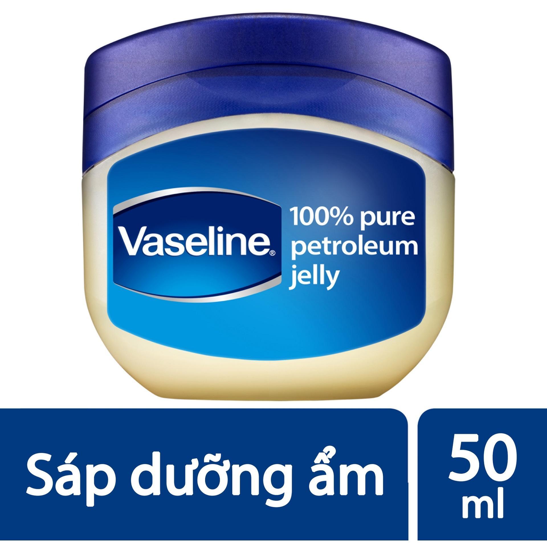Sáp dưỡng ẩm Vaseline 50ml nhập khẩu