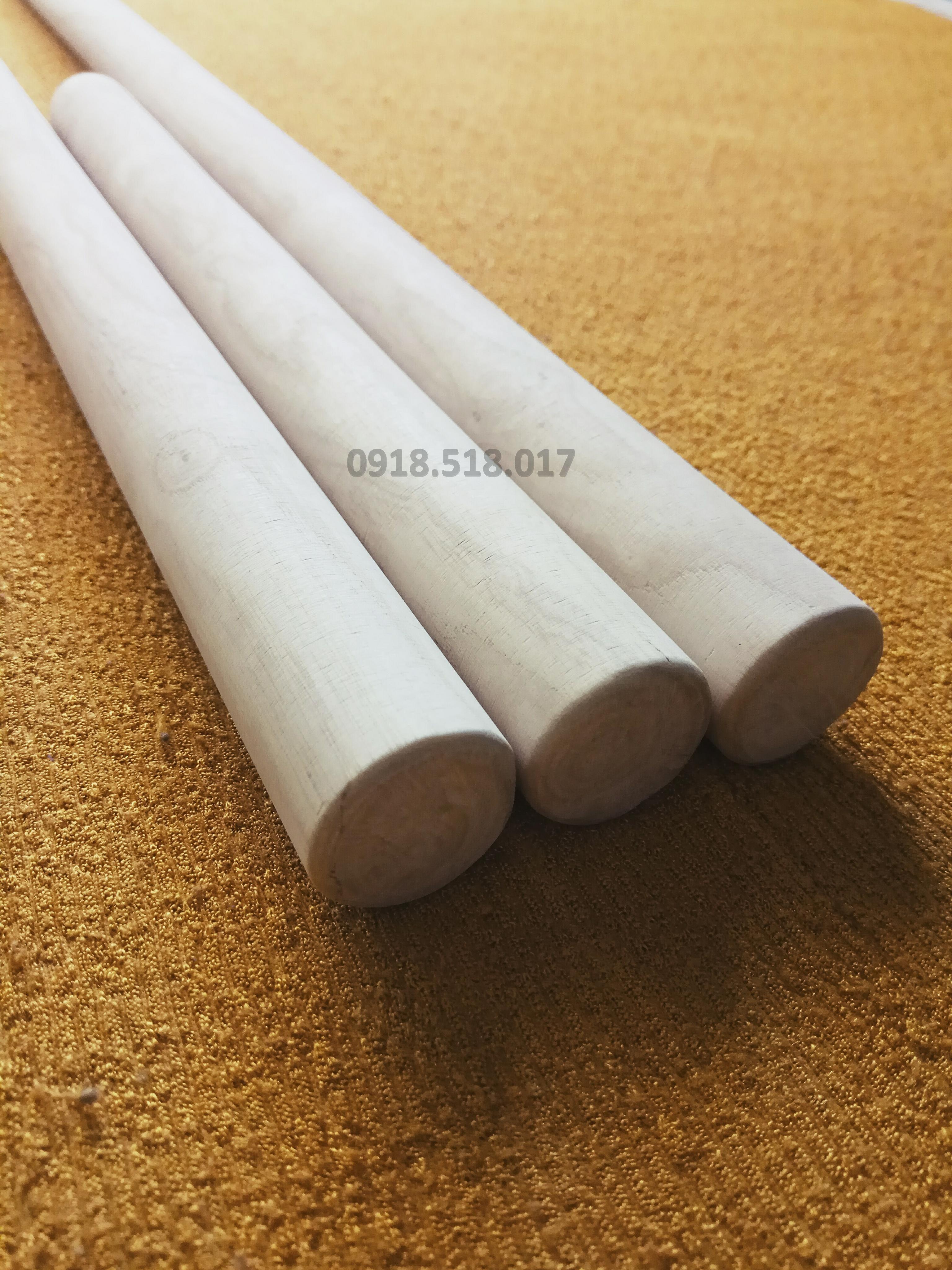 Hình ảnh Bộ 3 gậy Arnis gỗ Bạch Lạp