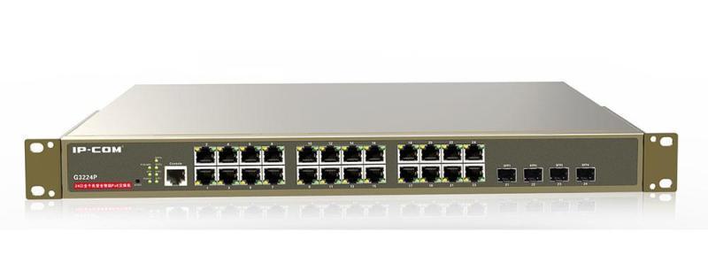 Bảng giá Managed  Switch IP COM G3224P 24-Port Gigabit+4*SFP Combo PoE Phong Vũ