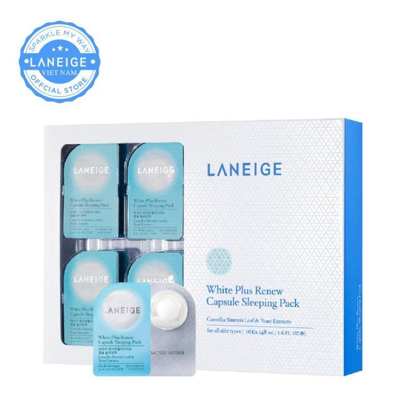 Mặt nạ ngủ dưỡng trắng da Laneige White Plus Renew Capsule Sleeping Pack 48ml