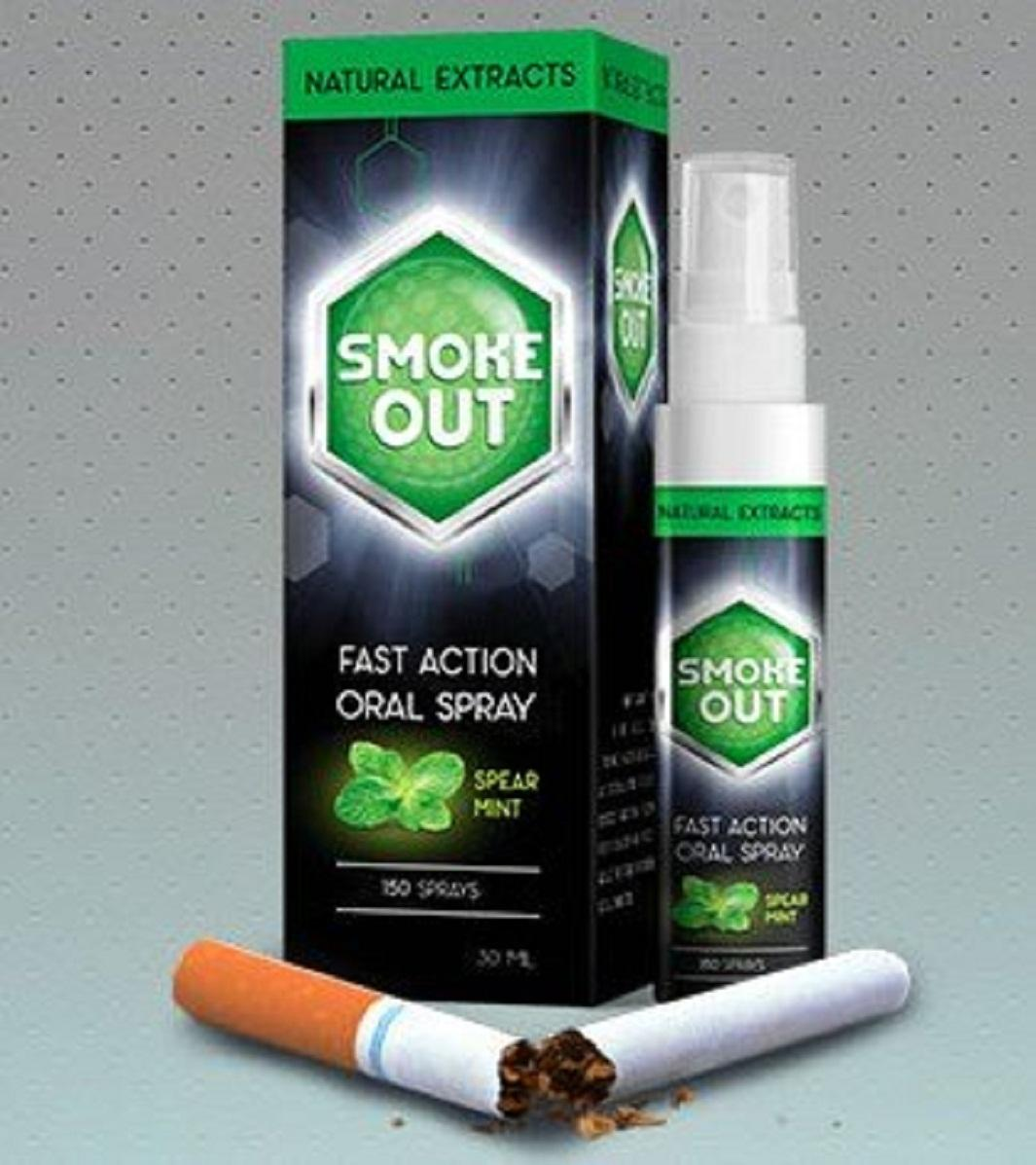 Xịt Cai Nghiện Thuốc Lá Smoke Out fast action oral spray 30ml