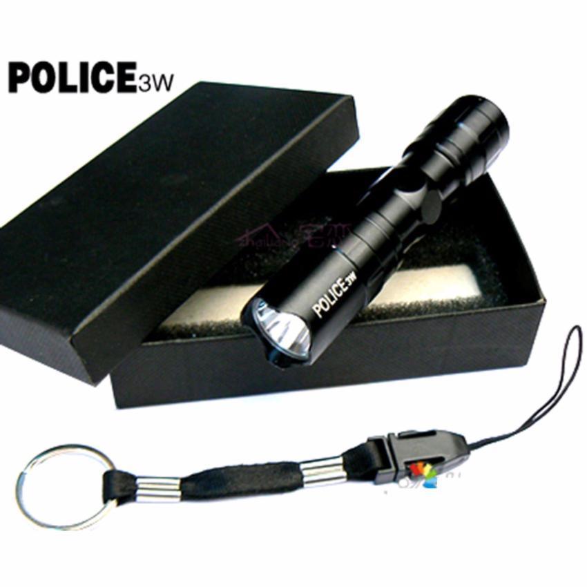 Mã Khuyến Mãi Đèn Pin MINI Siêu Sáng Led 3W Chất Liệu Nhựa Cứng, Dùng 1 Pin AA, Kích Thước Nhỏ Gọn, Dài 9.5cm; đường Kính 1.8cm