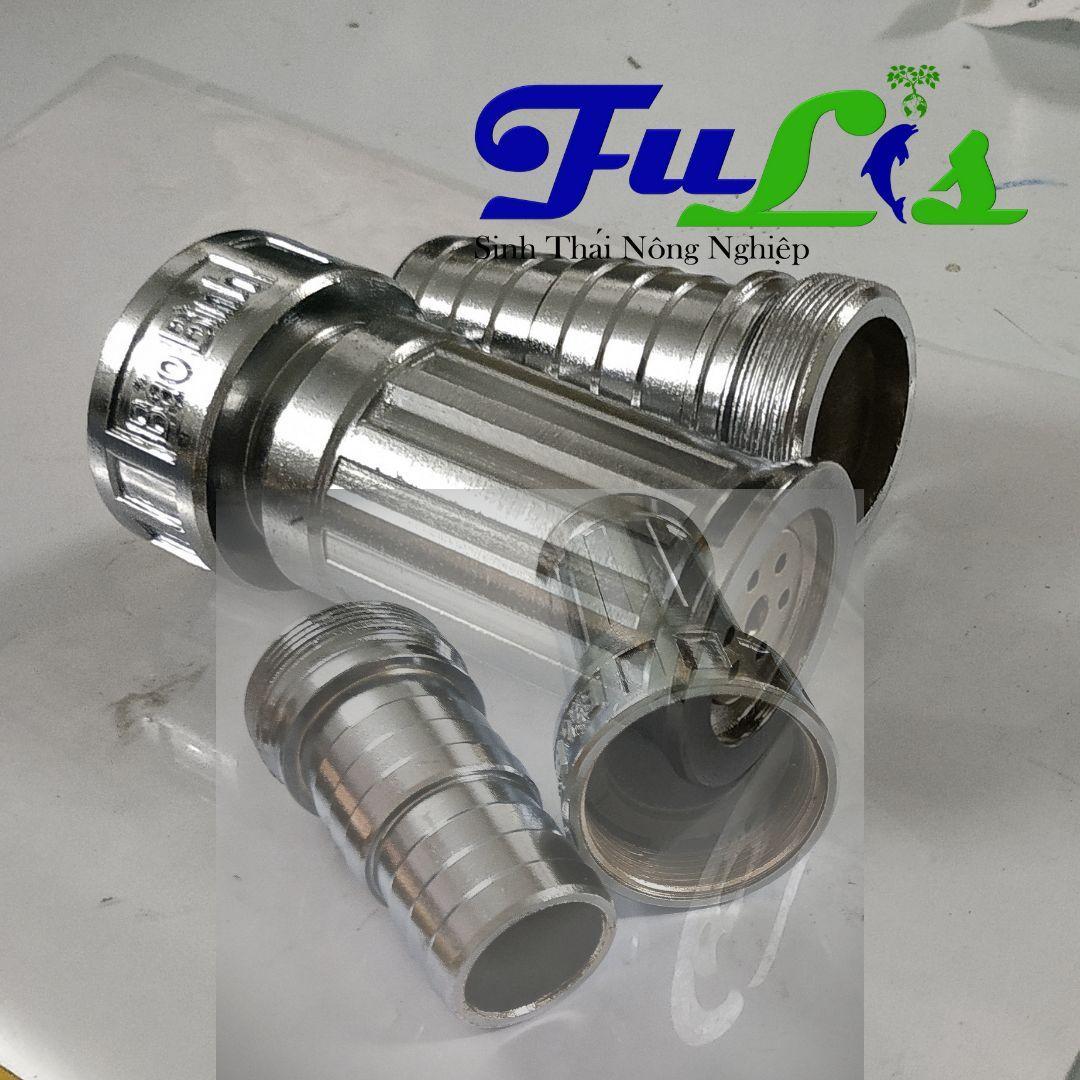 VÒI TƯỚI NÔNG NGHIỆP TAY CẦM CHẤT LIỆU INOX  CHẤT LƯỢNG ( Dùng ống nhựa nối phi 35-40mm)