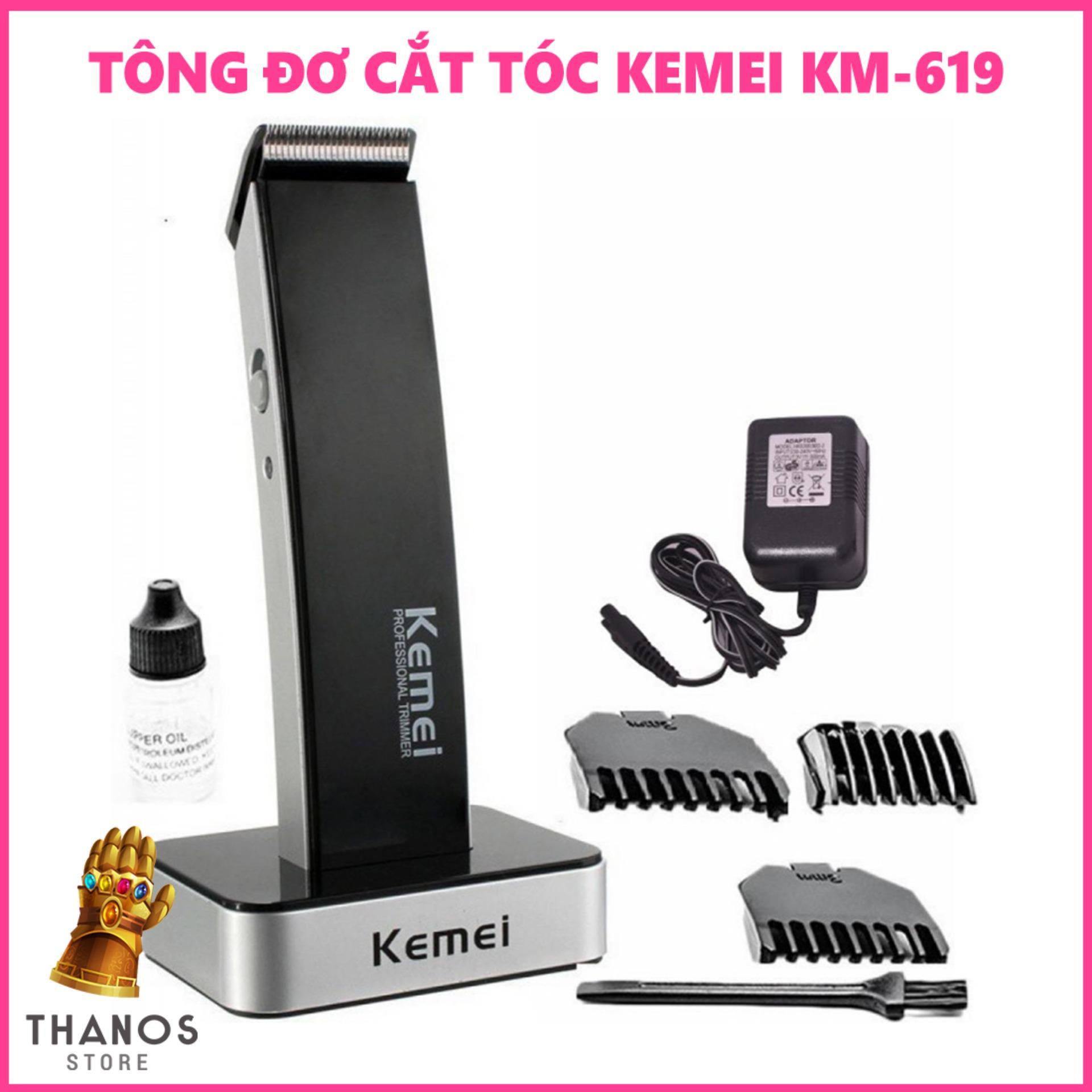 Tông đơ cắt tóc Kemei KM-619 - Thanos Store nhập khẩu
