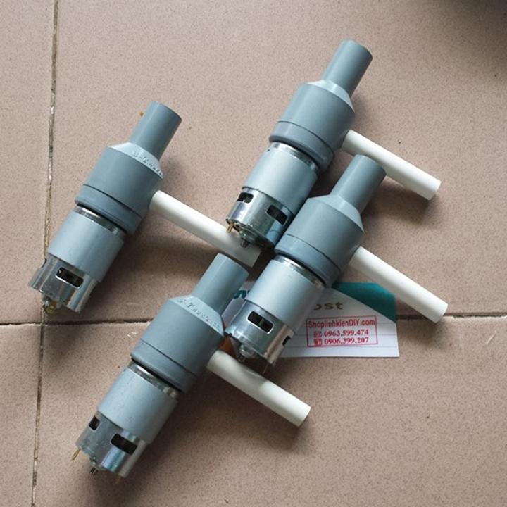 máy bơm nước chế với motor 775 150w