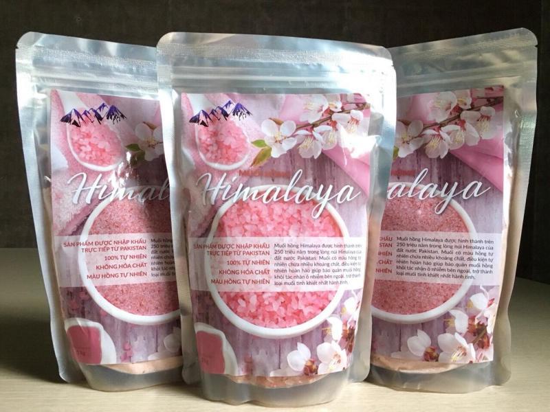 Muối hồng Himalaya - loại hạt 1kg